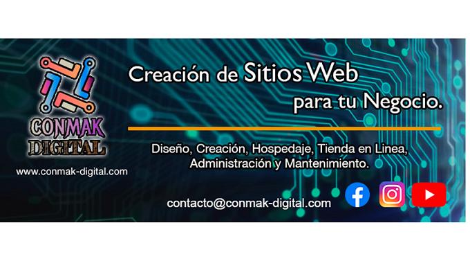 Diseño, Creación, Hospedaje, Tienda en linea, Administración y Mantenimiento de tu sitio Web.