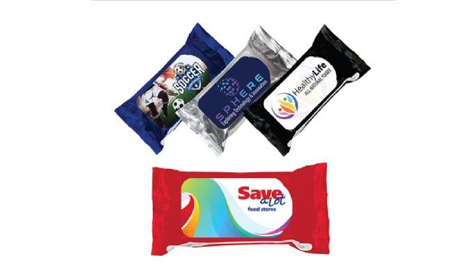 Antibacterial Wet Wipes 2.0, Full Color Digital Antibacterial Wet Wipes 2.0, Full Color Digital Full...