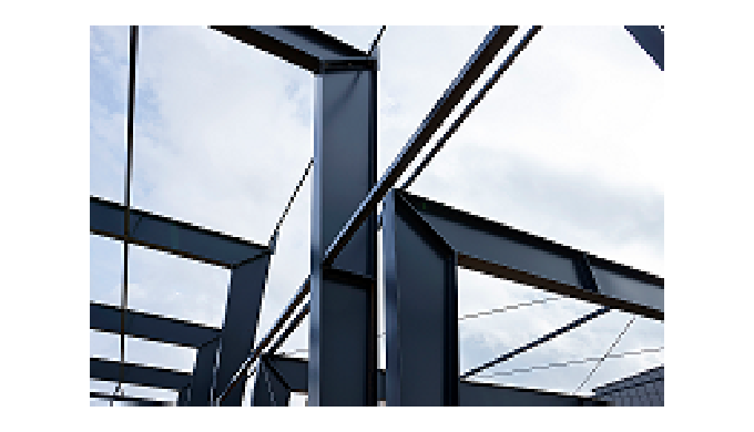 Give Steel, Stahlkonstruktionen und Stahlsparren