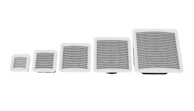 Le griglie Kryos³ GS per la ventilazione dei quadri elettrici sono la soluzione ottimale quando la t...