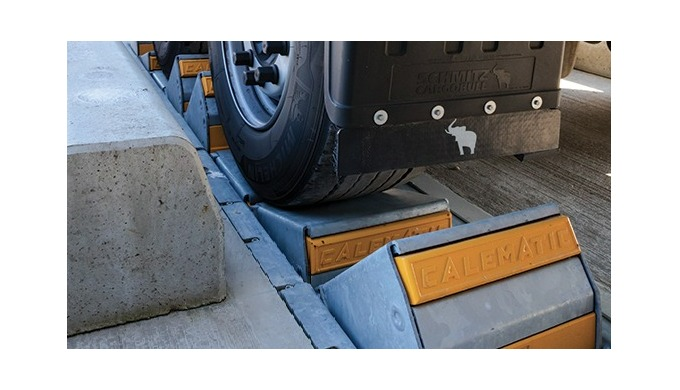 Cushioning for Calematic trucks