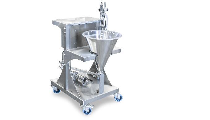 Conçu par CDA, le chariot à piston est un système de pompage pour produits à forte densité. Il est t...