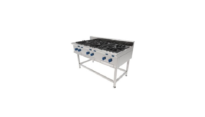 COMMERCIAL GAS RANGE | TRIPLE GAS RANGE of Rinas Daesung Co., Ltd.