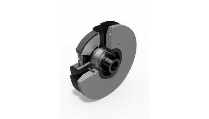 Die Fliehkraftkupplung mit Regelscheibe bietet wie die Fliehkraftkupplung mit automatischen Riemensp...