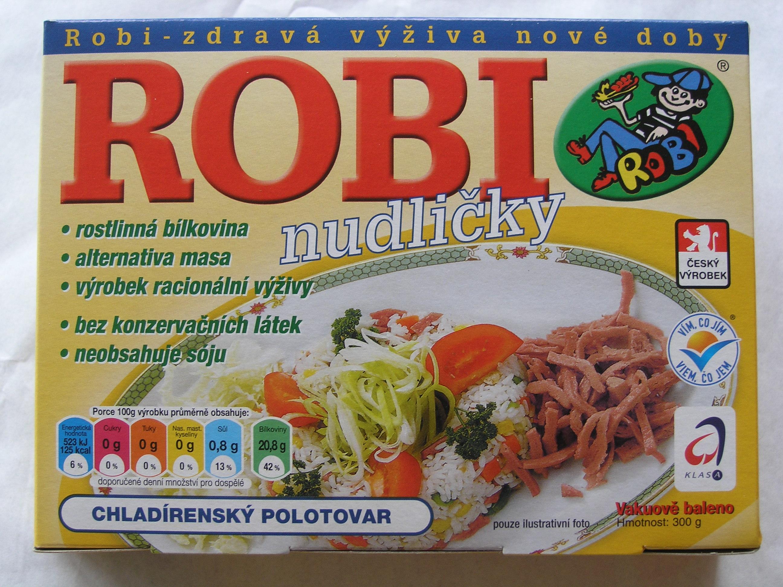 Ideální polotovar pro přípravu jídel na čínský nebo indický způsob.Robi nudličky jsou vhodné i pro p...