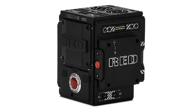 Le corps de caméra RED Helium 8K DSMC2 dispose d'un capteur CMOS de 29,90 mm x 15,77 mm, diagonale 3...
