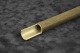 Mosazné a ocelové žebrované trubky Trubky se zesílenými konci umožňují pevnější spojení trubky s tru...