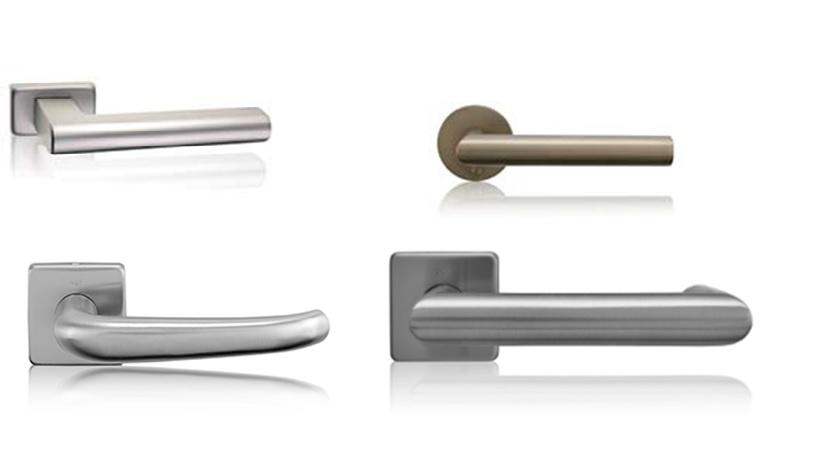 Moderní designové dveřní kliky.