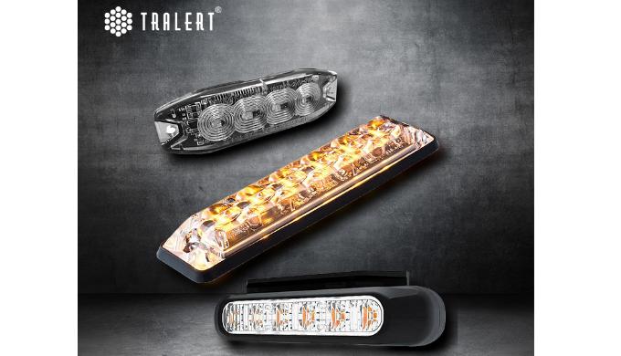Krachtige LED flitsers om extra op te vallen in werksituaties. TRALERT® heeft betrouwbare signalerin...