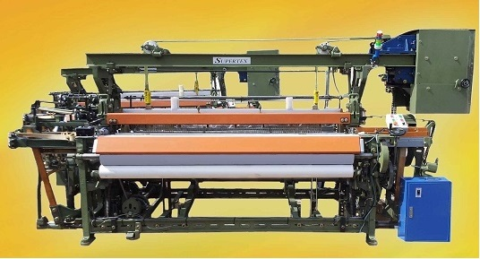 """YASHMAGH WEAVING LOOM - MODEL : SUPERTEX - REED SPACE : 55"""" 65""""(1650mm) 75""""(1900mm) - SHUTTLE BOX : ..."""