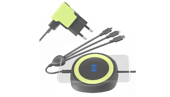 Anti-Theft  Wireless & wire Multi-Charger