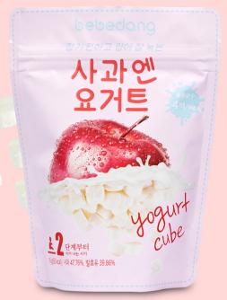Yogur (manzana y yogur)