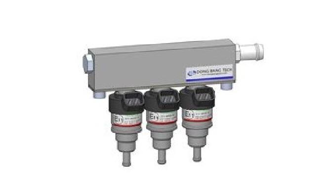 Инжектор состоит из шланг тип и тип рельса по способу соединения и делятся на три типа(красный, зеле...