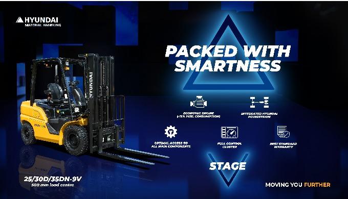 La nuova serie di Carrelli Elevatori Diesel 9V include una gamma di carrelli elevatori diesel da 2.5...