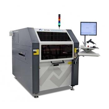 Versaprint B1 • In-line stroj • Seriové zpracování DPS (vyšší průchodnost stroje) • Kamera pro 100% ...