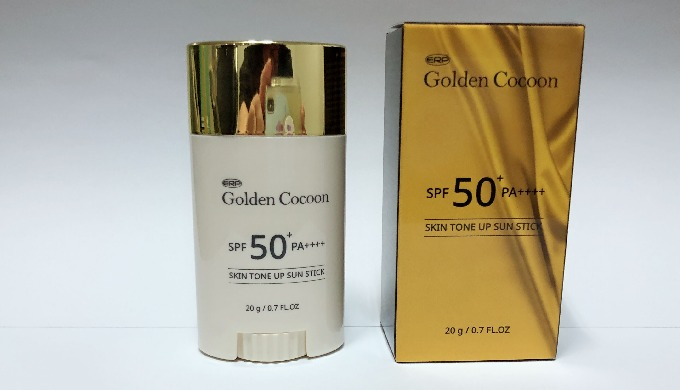 Golden Cocoon Skin Tone Up Sunstick | sun protection stick