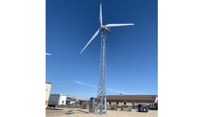 Solid Wind Power launches new turbine with lattice tower by Carl C A / S