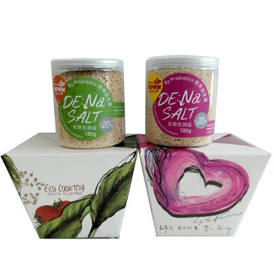 DE:Na SALT Fermented Low Sodium Salt100% fermented salt utilizing fast fermented soybean paste