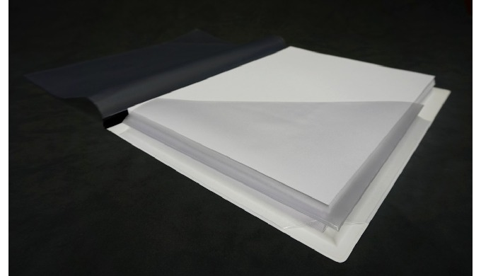 Buste Adesive e Tasche Trasparenti Produciamo buste adesive in PVC per tipografie, legatorie e studi...