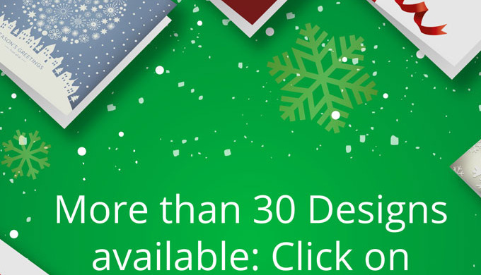 Your branded charity Christmas Cards are the perfect way to reach out to clients and customers while...