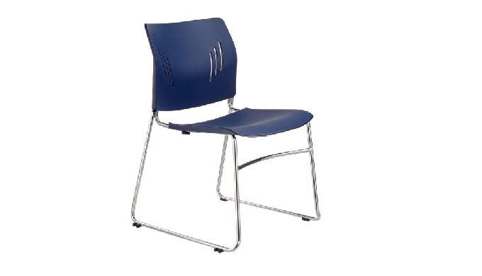 ACE-05C is ACE series sled-base stacking guest chair, with stylish shape, ergonomic back design and ...