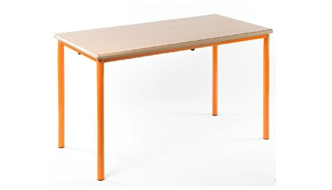 Quality tables with smooth clean lines and available in six vibrant frame colours which add a festiv...