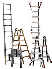Teleskopiske Multistiger fra Little Giant Ladders i Utah, USA - I dag forhandler JUMBO stiger fra Li...
