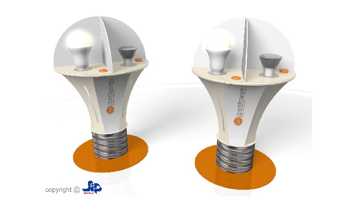 Light bulb stand