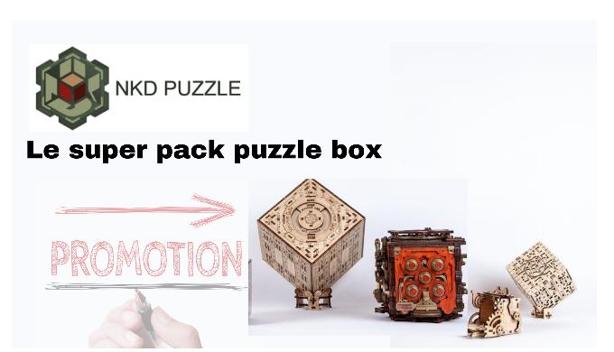 Super Pack puzzle boxes