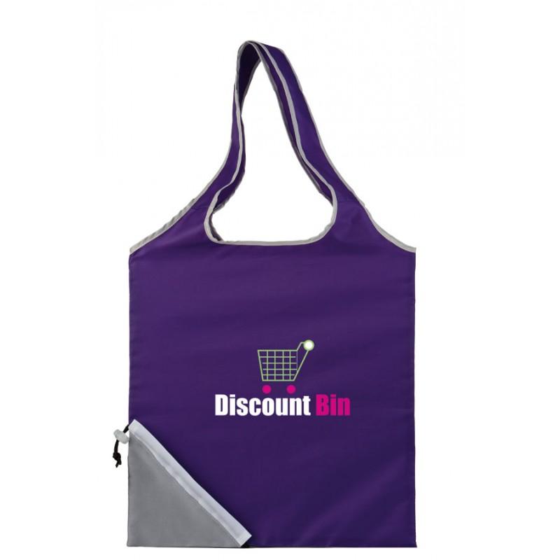 Sac shopping pliant publicitaire à personnaliser avec votre logo pour améliorer votre visibilité