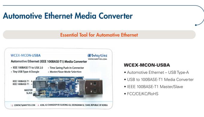 Automotive Ethernet Media Converter