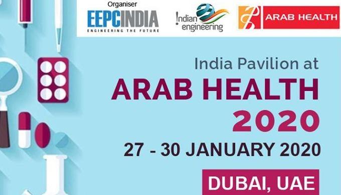 India Pavilion at Arab Health 2020