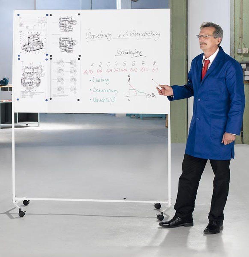 magnethaftendDie Lösung, wenn keine Wand zur Anbringung einer Tafel vorhanden ist oder kurzfristig e...