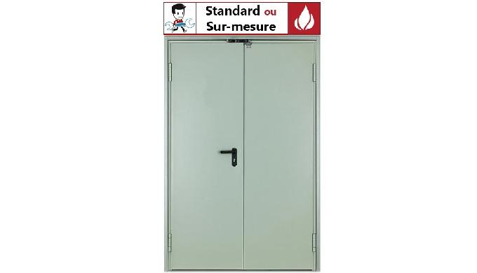 PV n° EFR-16-003233 PV n° EFR-17-002417 Tôles en acier galvanisé de 0.7 mm d'épaisseur, assemblées s...
