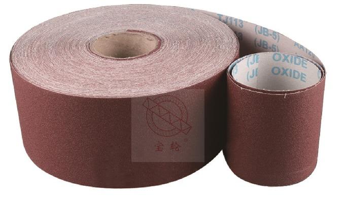 Title J-weight Flexible Abrasive Sanding Cloth Jumbo Roll JB-5(TJ113) 1400mmx50m Grit 36/60/80/100/1...