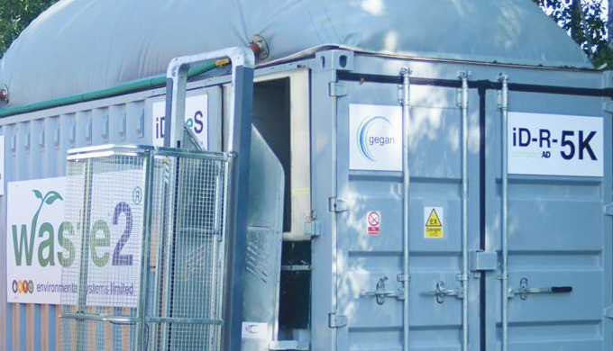 iD-R-5K system of Wastes2ES helps with food waste management with a difference. This compact anaerob...