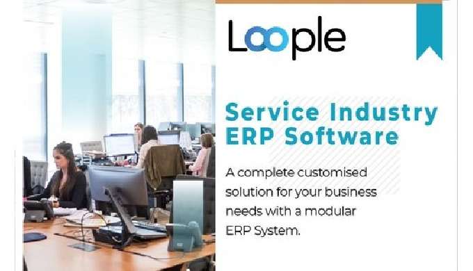 Service ERP Software is a business process management software that allows an organization to use a ...