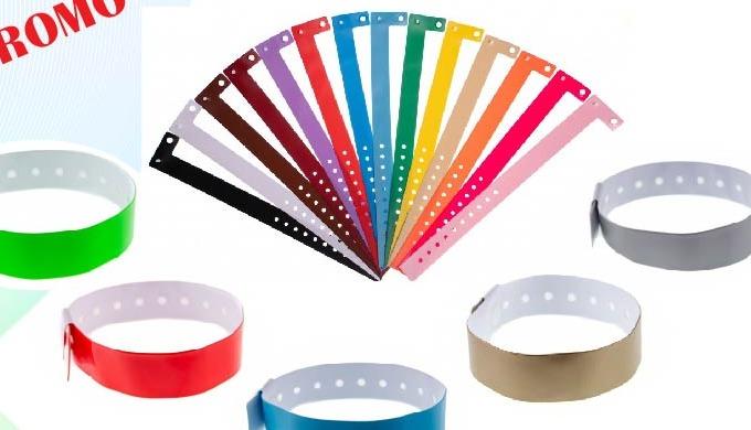 Bracelets vinyle et tyvek