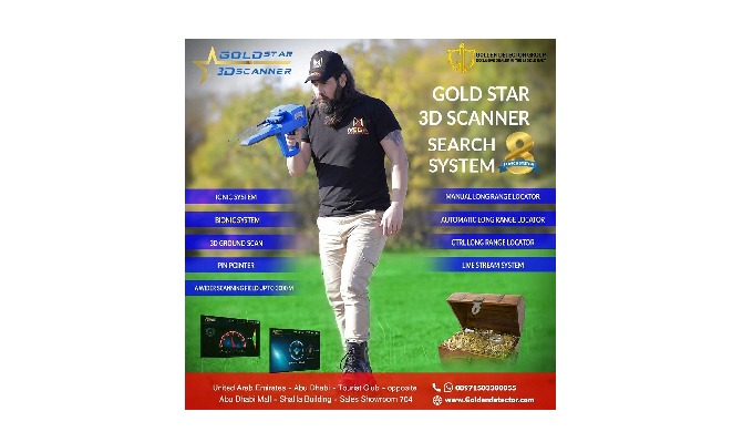 GOLD STAR 3D SCANNER BY MEGA LOCATORS If you are looking for equipment to aid scanning and give you ...