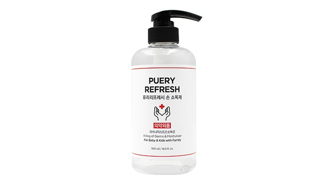 Puery Refresh Sanitizer 500ml    i    Antiseptic