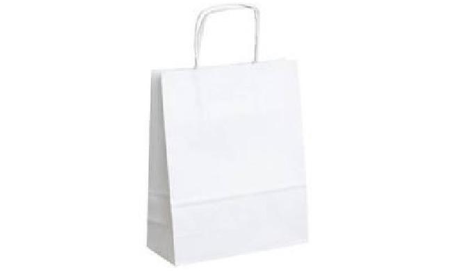Papírové tašky z recyklovaného materiálu