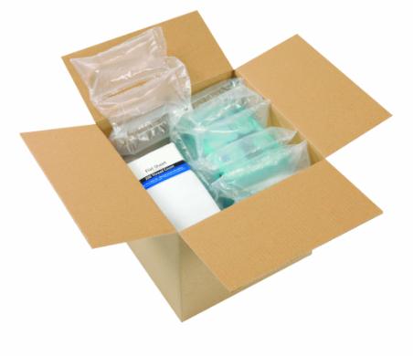 Les coussins d'air AirPouch intègrent notre système de perforations breveté EZ-Tear™ permettant de l...
