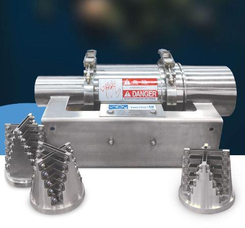La Tête Flo-Cut® modèle 360 offre une coupe hydraulique nette et précise. Cette machine produit une ...