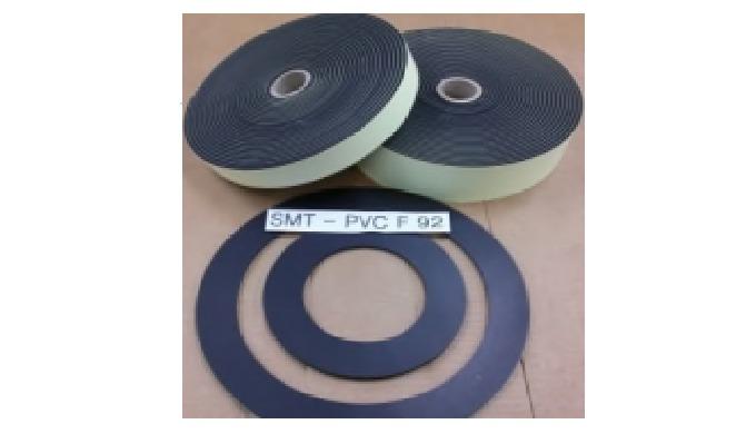 PVC SINGLE-SIDED FOAM SEAL (SMT-F-92) Product Description Flame-resistant high-density PVC foam tape...