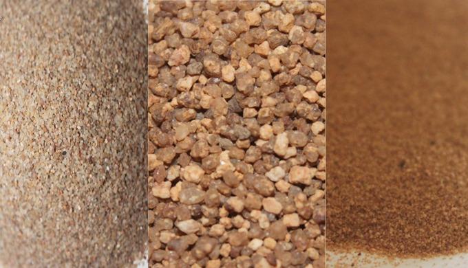 Sable de filtration d'eau d'irrigation, Notre Sable Silice est spéciale pour les travaux suivants: *...