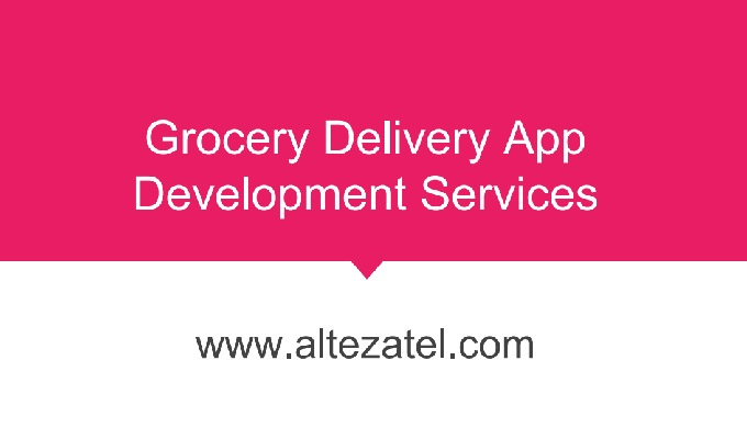 Alteza is an eCommerce mobile and web app development company that designs an offer grocery app and ...