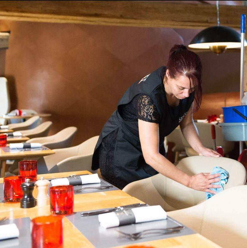 Nettoyage restaurants SERNET
