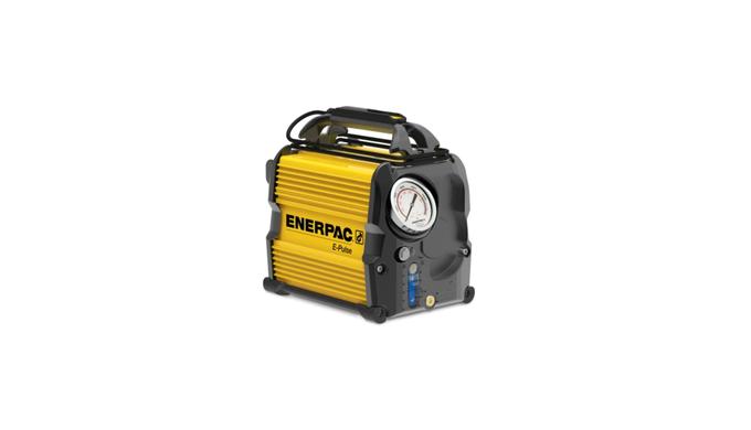 pompe hydraulique électrique, huile utilisable de 0,8 gal, prise NEMA 5-15, avec manomètre