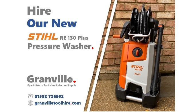 We're excited to add this powerful Stihl RE 130 Plus Pressure Washer to our cleaning equipment hire ...