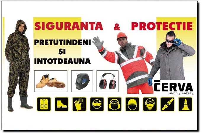 Hainele de lucru, încălțăminte, echipamentul de protectie a muncii
